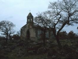Dia 02-8009 Kirchenruine bei Padru Mannu