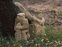 Dia 01-8014 Im Garten von Franco Madau