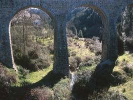 Dia 01-5023 Eisenbahnbrücke