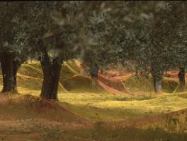 Dia 01-2030 Olivenernte Bei Cuglieri