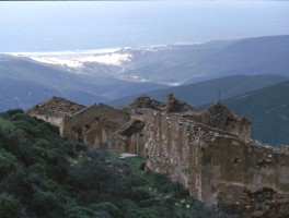 Dia 01-7031 Ruinen Richtung C. Verde