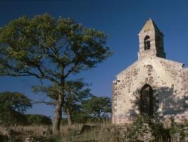 Dia 01n009 Kirchenruine Nähe Macomer