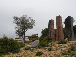 Mai 2012 0034c Gedenkstätte am Genna Silana