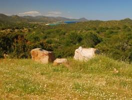 Mai 2012 0327 Blick zur Cala di Sinzias u. Costa Rei