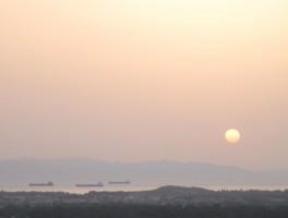 Aug 2012 0853  Blick über Pula
